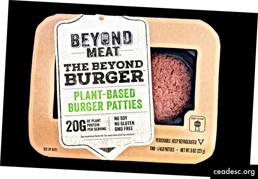 Отвъд месото подчертава специфични качества за привличане на определени потребители