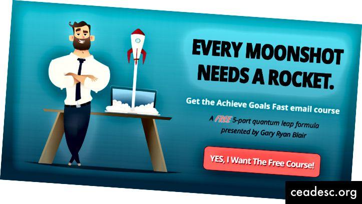 احصل على دورة مجانية في تحقيق الأهداف عبر البريد الإلكتروني