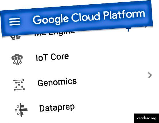 الخطوة 1: تشغيل Dataprep من وحدة تحكم الويب GCP