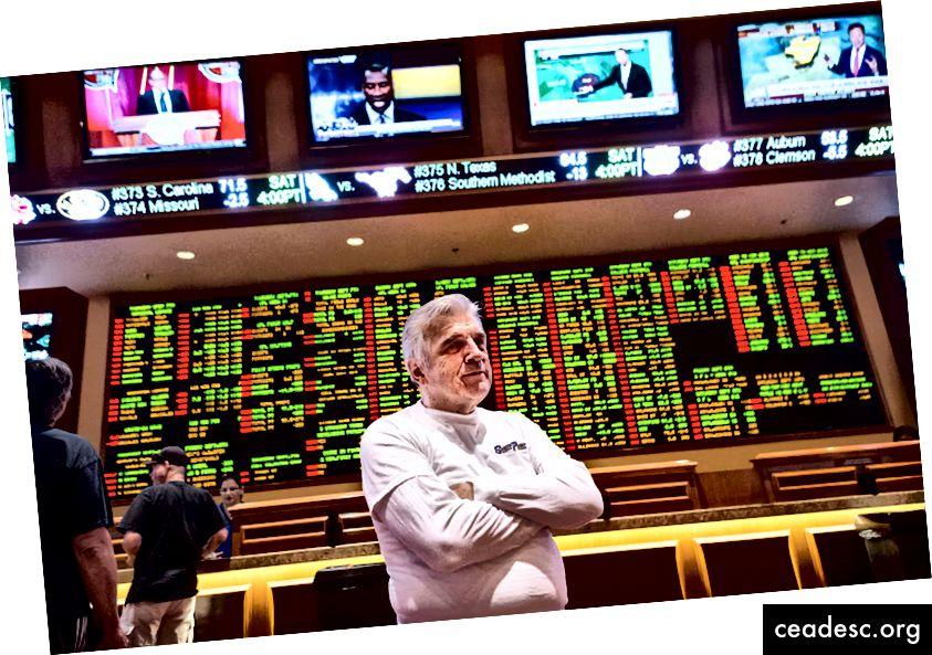 Jimmy Vaccaro, Las Vegase South Pointi kasiino ennustaja. Arvate, et suudate teda edestada?