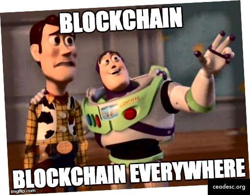der er ingen flugt, blockchain er overalt