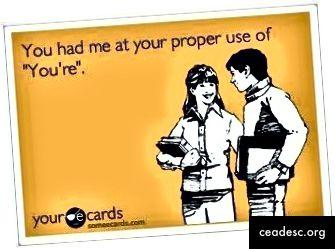 Граматически въпроси (Източник: Yourecards.com)