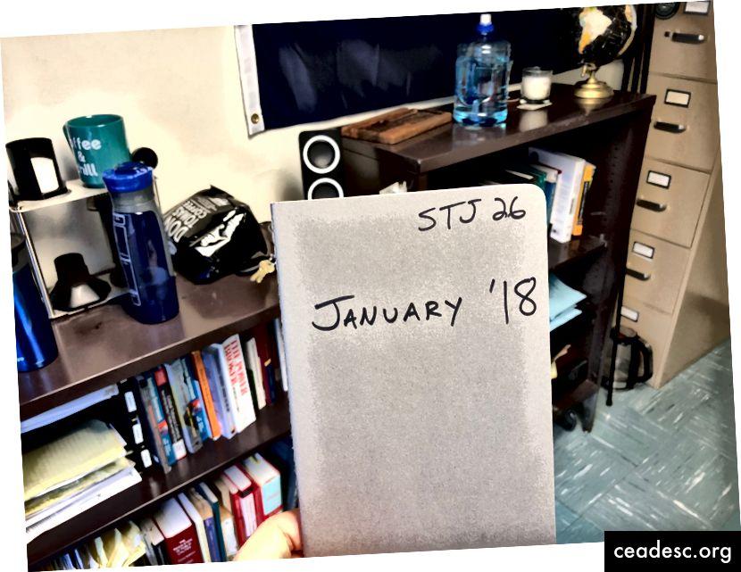 Na mesec uporabljam (približno) en časopis in nekaj mesecev sem v tretjem letu svojega sistema.