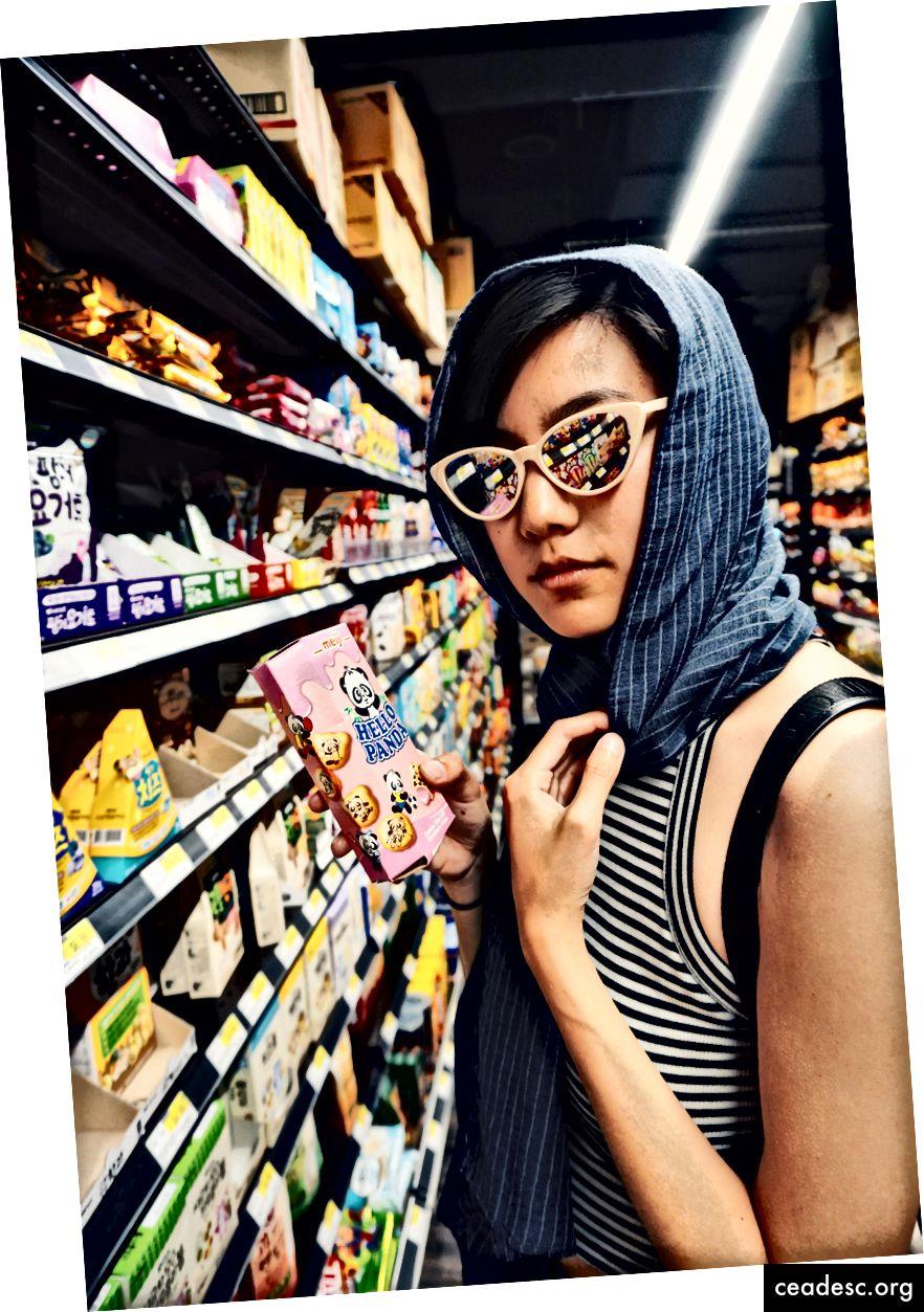 Dami Lee, karikaturist ja kirjanik ... H Martis. Foto autor: Eunice Yooni Kim