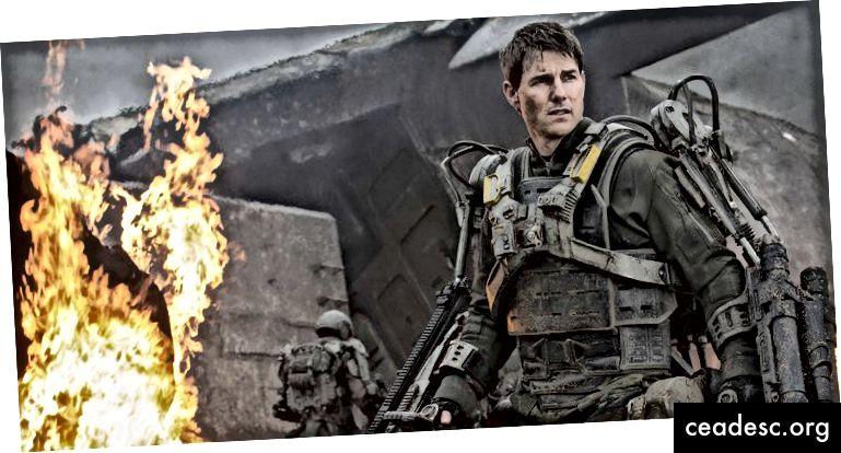 Questa è Tom Cruise in Edge of Tomorrow. Esaminerà centinaia di volte prima di riuscire. Farai meglio.