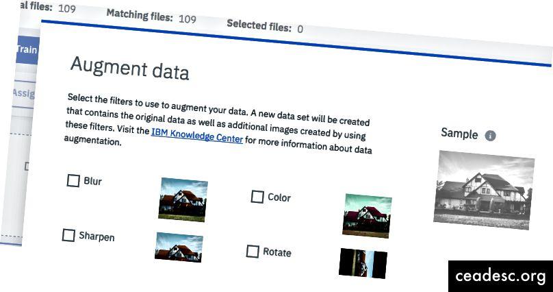 Na primer: Modal ponuja pregled funkcij, vendar povezava za več informacij uporabnika izloči iz izdelka.