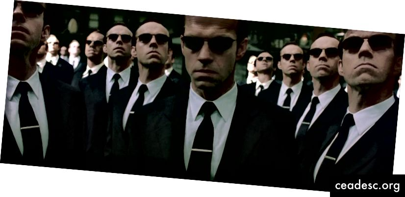 Créditos: The Matrix Reloaded (2003)