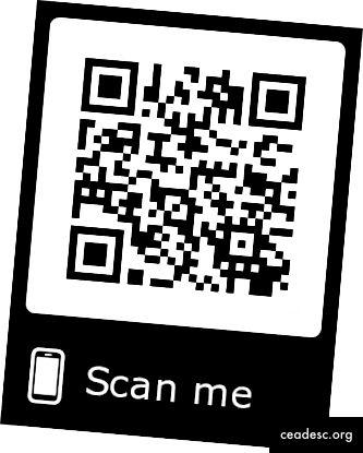 QR-koodi digitaaliselle käyntikortilleni