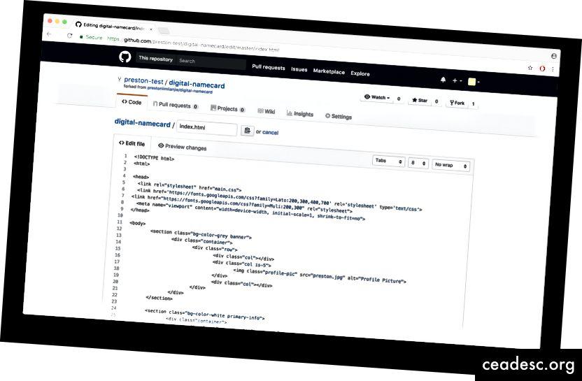 GitHub editor je spreman za upotrebu!