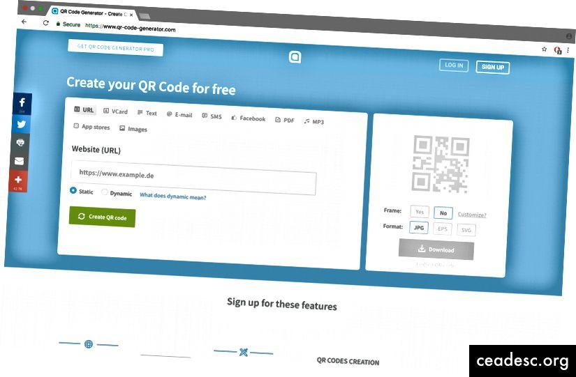 Luo GitHub-sivujen URL-osoitteellesi erityinen QR-koodi
