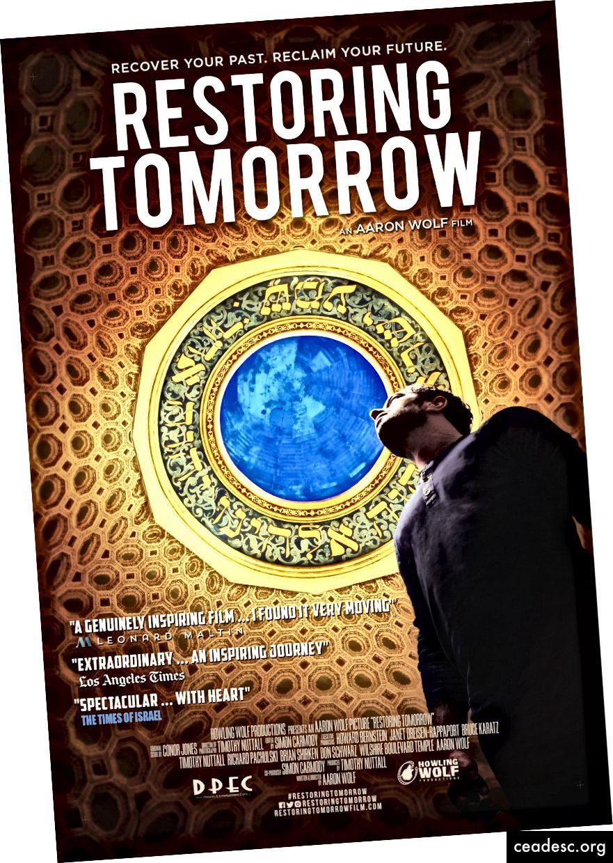 استعادة ملصق فيلم Tomorrow ، الذي يجلس حاليًا بنسبة 100٪ على Rotten Tomatoes