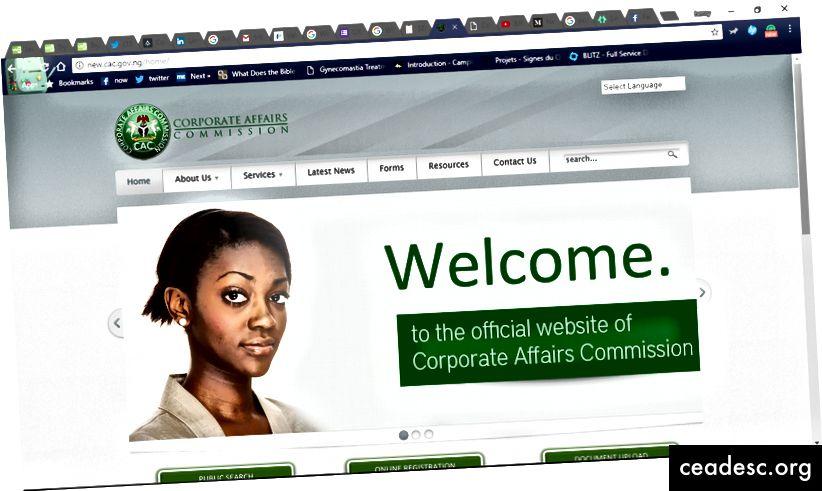 Kurikuulus CAC-i veebisait