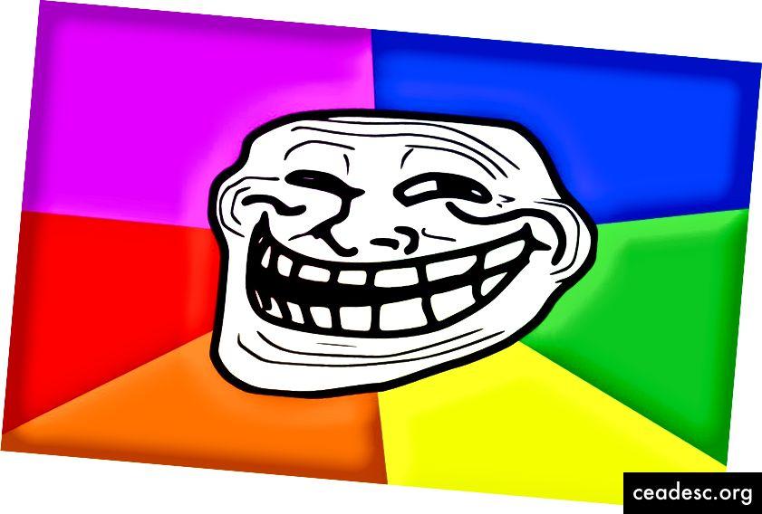 """""""Troll-face"""" FreeMake'i kaudu"""
