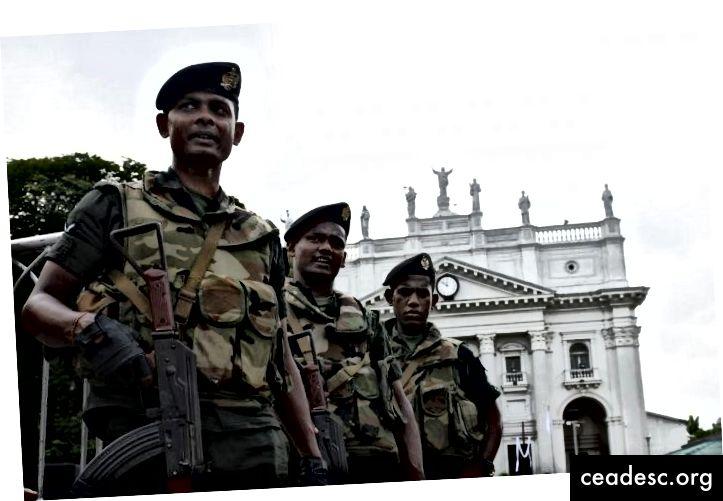 Nagu alati, tegid Sri Lanka relvajõud üldsuse ohutuse tagamiseks fantastilist teenust