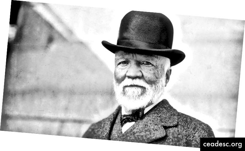 Andrew Carnegie - Imprenditore scozzese.
