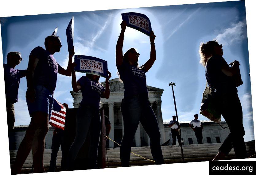 Kulude ja tulude raamistiku kohaldamine abordi piiramise võitjate ja kaotajate vahel oleks väga keeruline. Foto: Win McNamee / Getty Images
