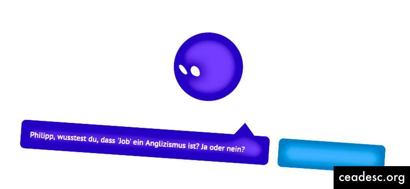 """Ingliskeelne ärakiri: """"[Philipp], kas teadsite, et sõna"""" töö """"on anglikism?"""""""