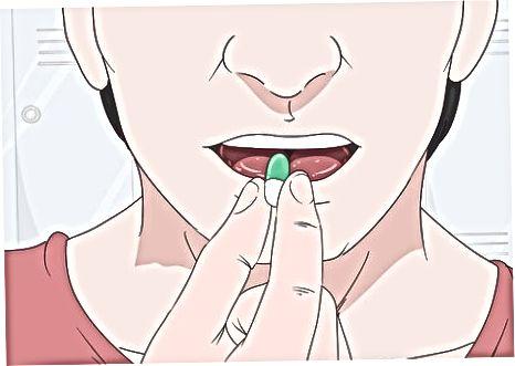 Medicatie nemen voor uw oogleden
