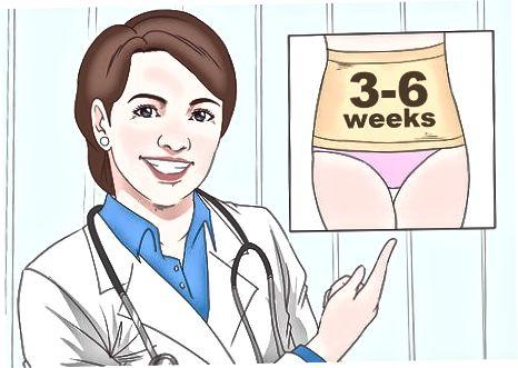 De incisieplaats behandelen