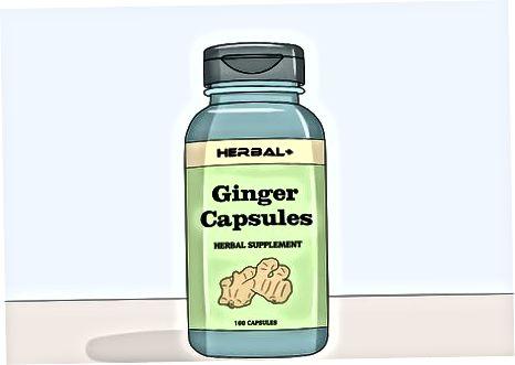 Gember eten of supplementen nemen