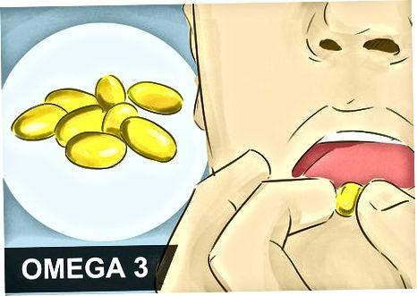 Tomar suplementos com Omega-3