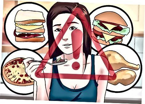 Junkfood-gerelateerde maagpijn voorkomen
