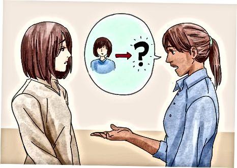 Je vriend vragen over de beslissing
