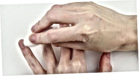 Hangnails repareren