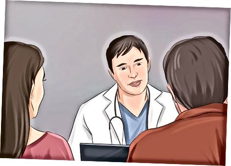 Een medische professional raadplegen