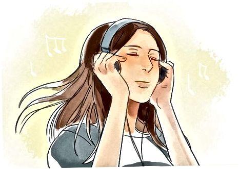 音楽を使って落ち着きを見つける