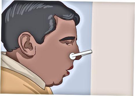 Praticando com o espirômetro