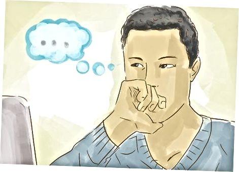 Suavizándose en una situación estresante