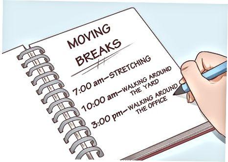 Moverse cuando está de pie