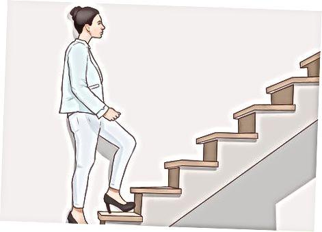 Å bevege seg rundt når du står