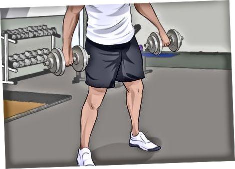 ورزش کے ساتھ پٹھوں کی تعمیر