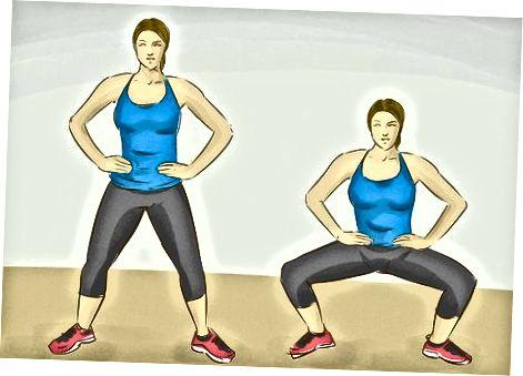Ieskaitot vingrinājumus, kas palīdz samazināt gūžas tauku daudzumu
