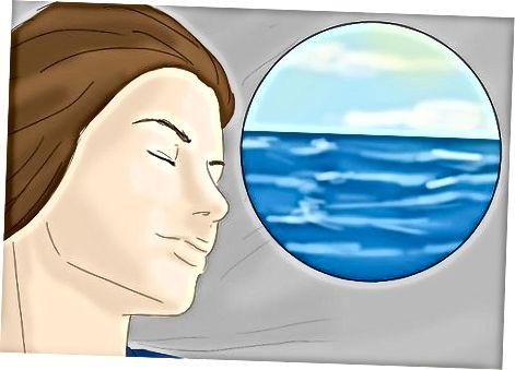 Het beoefenen van diepe ontspanningstechnieken