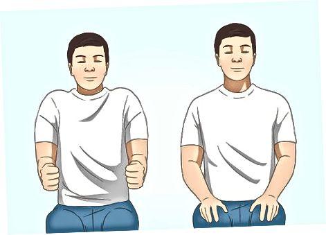 Nekpijn of spasmen beheren