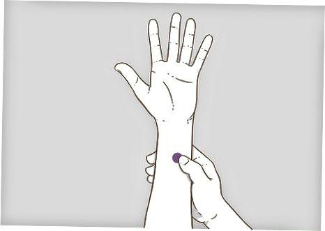 Je vingers gebruiken