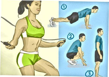 Inclusief andere oefeningen om armen te versterken