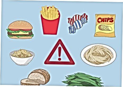Bepaalde voedingsmiddelen en dranken vermijden