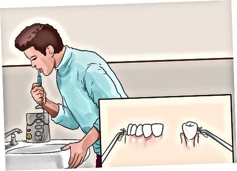 Träna god munhygien