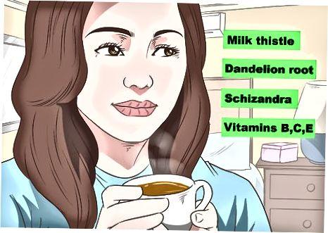 Thuis milde leverpijn behandelen