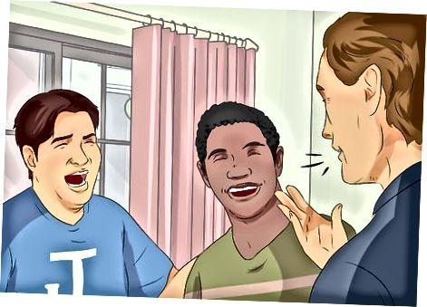 Je nieuwe lach oefenen