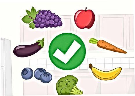Udržiavanie zdravej výživy