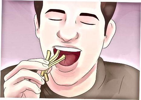 Елиминиране на храни, които насърчават растежа на дрождите