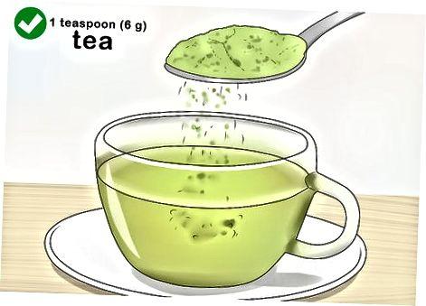Moringa-poeder consumeren in eten en drinken
