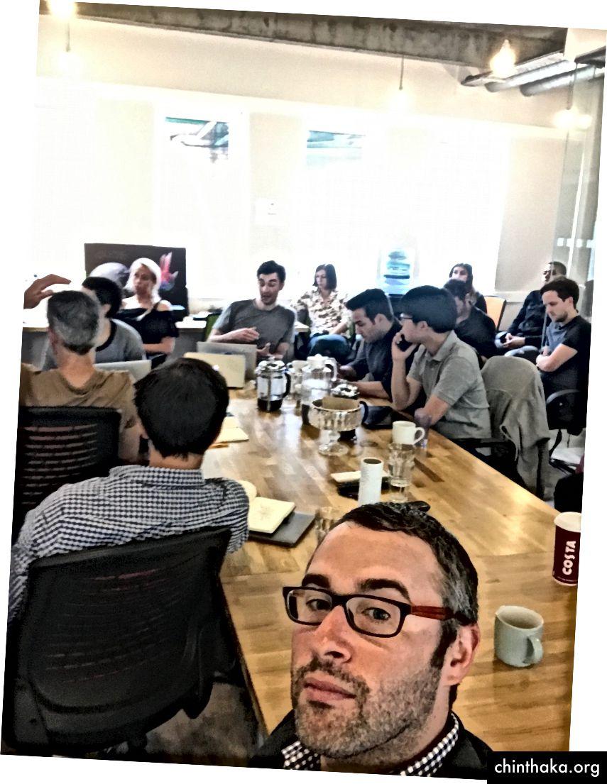 إدارة جلسة نمو مع شركات محفظة Local Globe في لندن