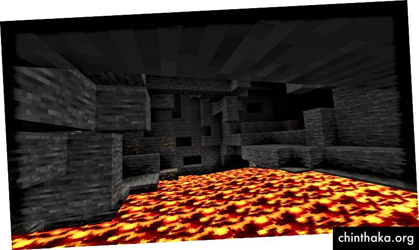 Was wäre, wenn die Felswand links ein weiteres Loch hätte?