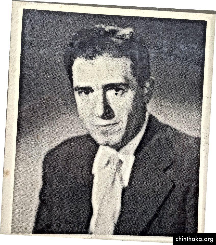 Ein seltenes Foto von A.H.Z. Carr (1902–1971)